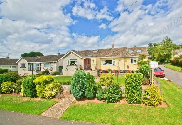 Thumbnail Detached house for sale in Fayreway, Croscombe, Wells, Somerset