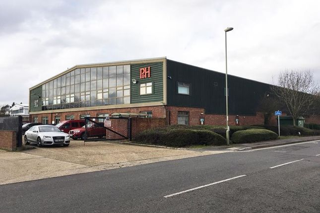 Thumbnail Warehouse for sale in Unit 3, Crompton Way, Segensworth, Fareham