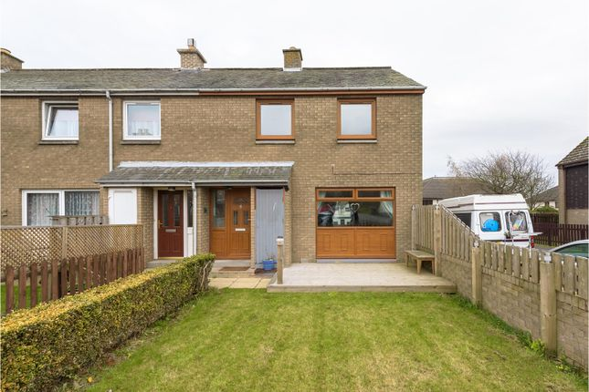 Thumbnail End terrace house for sale in Broomlee Crescent, West Linton