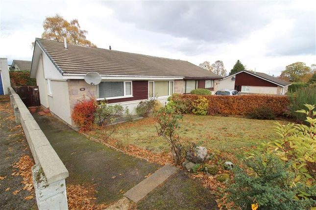 Thumbnail Semi-detached bungalow for sale in 26, Cradlehall Park, Inverness