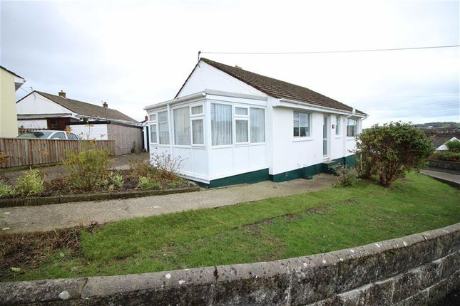 Thumbnail Detached bungalow for sale in Chanters Hill, Barnstaple