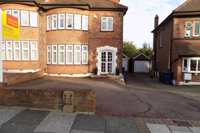 Thumbnail Semi-detached house for sale in Cissbury Ring South, London N12, Woodside Park, N12,