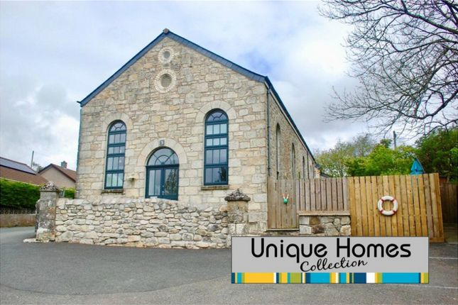 Thumbnail End terrace house for sale in The Old Chapel, Lanjeth, St Austell, Cornwall