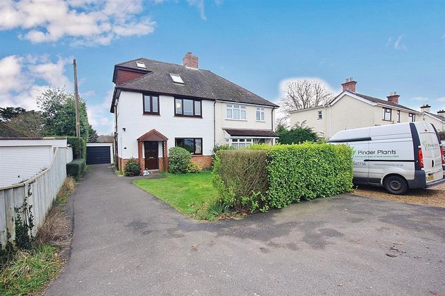 Thumbnail Semi-detached house for sale in Eastfield Lane, Hightown, Ringwood