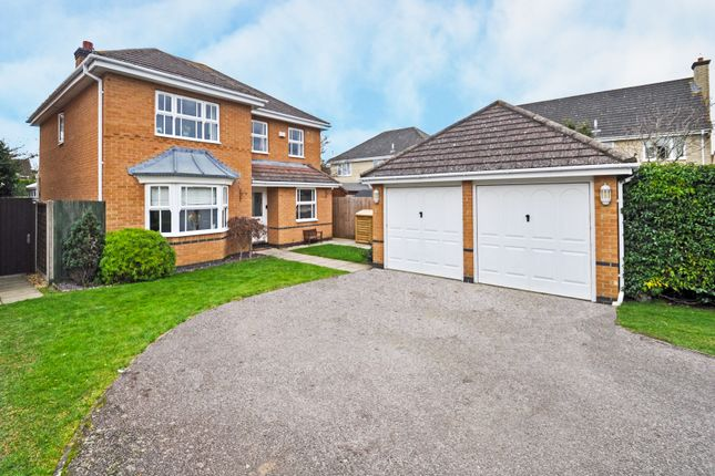Thumbnail Detached house for sale in Burdock Close, Bicester