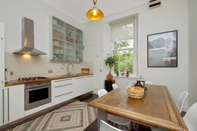 Kitchen of Hill Street, Garnethill, Glasgow, Lanarkshire G3
