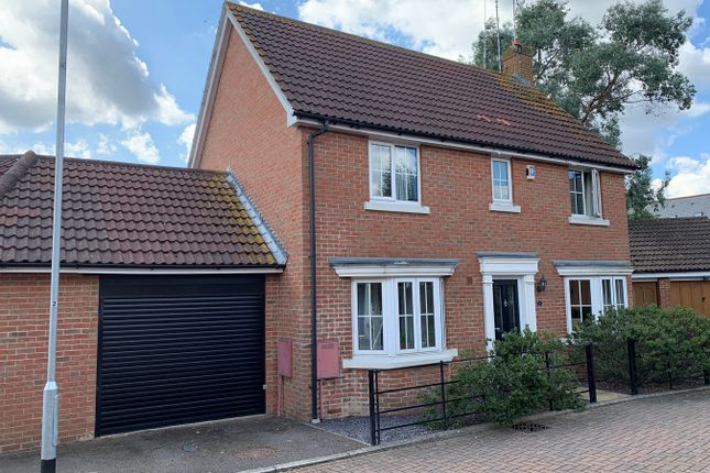 Thumbnail Detached house for sale in Wiggins View, Chancellor Park, Chelmsford