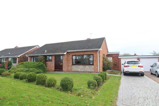 Thumbnail Detached bungalow for sale in Merrington Road, Bomere Heath, Shrewsbury