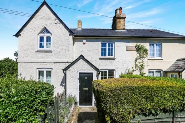 Thumbnail Terraced house for sale in Baldock Road, Letchworth Garden City, Hertfordshire, England