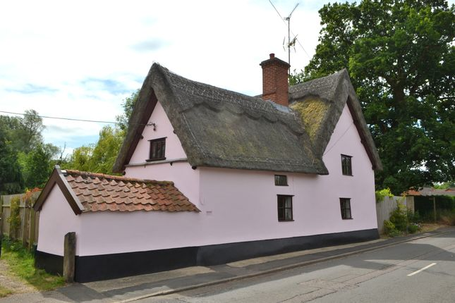 Thumbnail Cottage for sale in High Road, Needham, Harleston