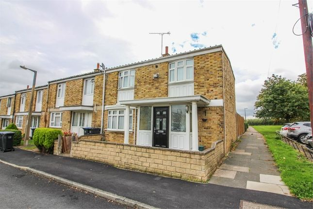 Thumbnail End terrace house for sale in Upper Mealines, Harlow, Essex