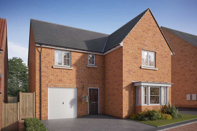 "Thumbnail Detached house for sale in ""The Grainger"" at Doncaster Road, Hatfield, Doncaster"