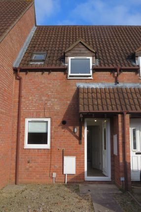 Thumbnail Terraced house to rent in Deerhurst Place Quedgeley, Gloucester, Gloucester