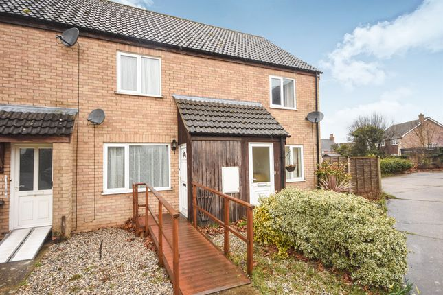 Thumbnail Terraced house for sale in Garlondes, East Harling, Norwich