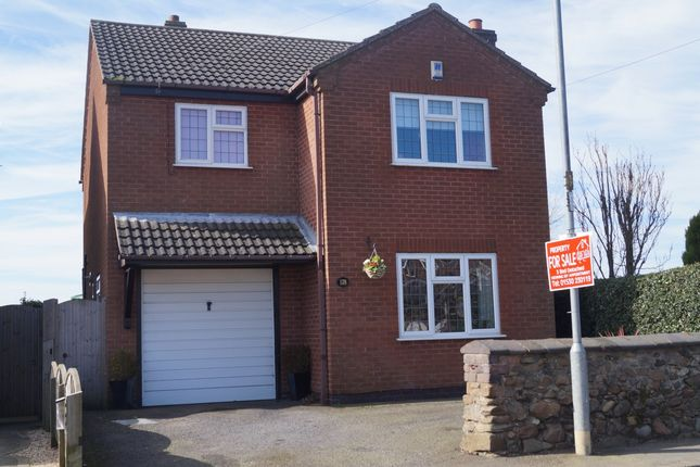 Thumbnail Detached house for sale in Main Street, Thornton, Coalville, Leicestershire