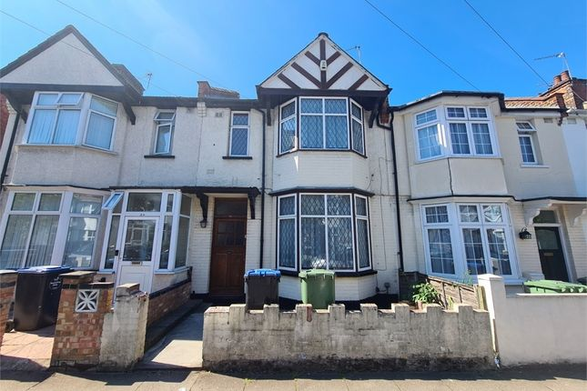 Thumbnail Terraced house to rent in Rosebank Avenue, Wembley, Greater London