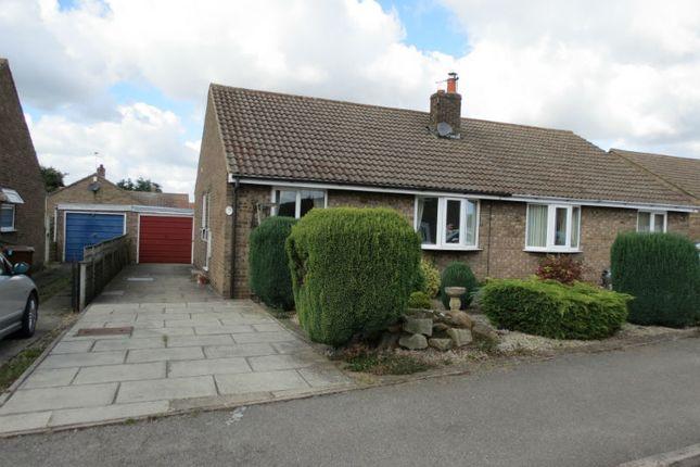 Thumbnail Semi-detached bungalow to rent in Long Meadows, Rillington