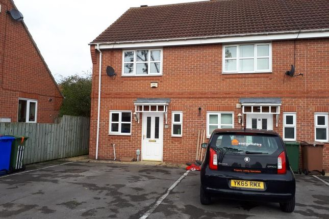 Thumbnail Terraced house to rent in Brumfield Court, Beverley