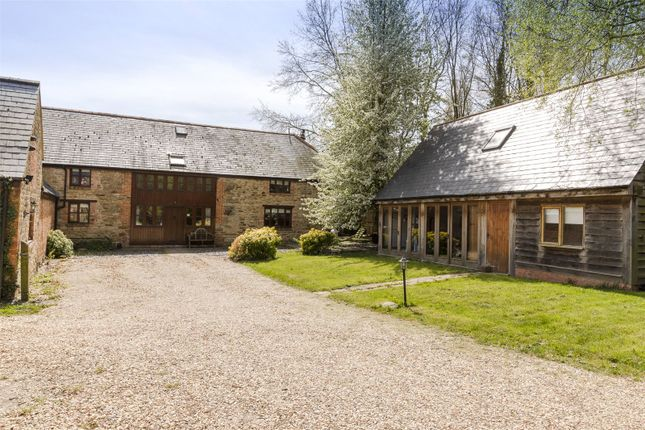 Thumbnail Equestrian property for sale in Caldecote, Towcester, Northamptonshire