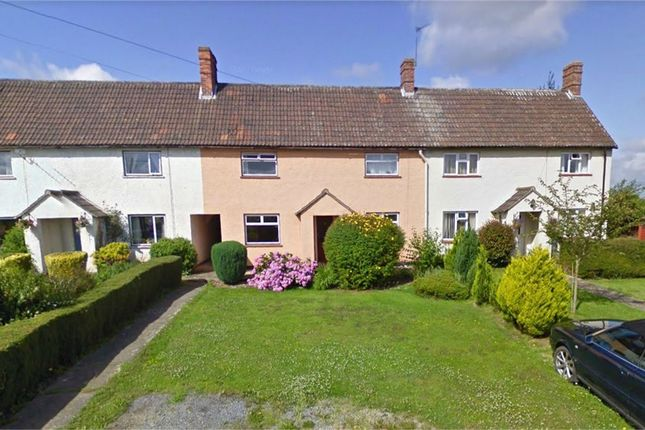 Thumbnail Terraced house for sale in Town Close, North Curry, Somerset