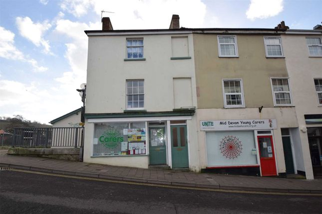 Thumbnail Flat to rent in 2A Bridge Street, Tiverton, Devon