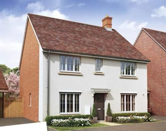Thumbnail Detached house for sale in Oakbrook San Andres Drive, Newton Leys, Bletchley, Milton Keynes