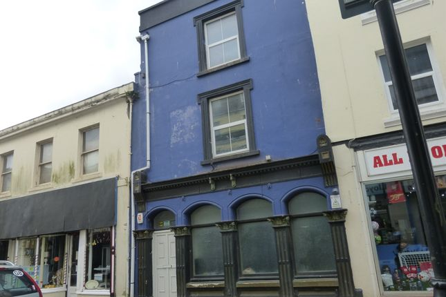 Thumbnail Flat for sale in Marlborough Street, Devonport, Plymouth