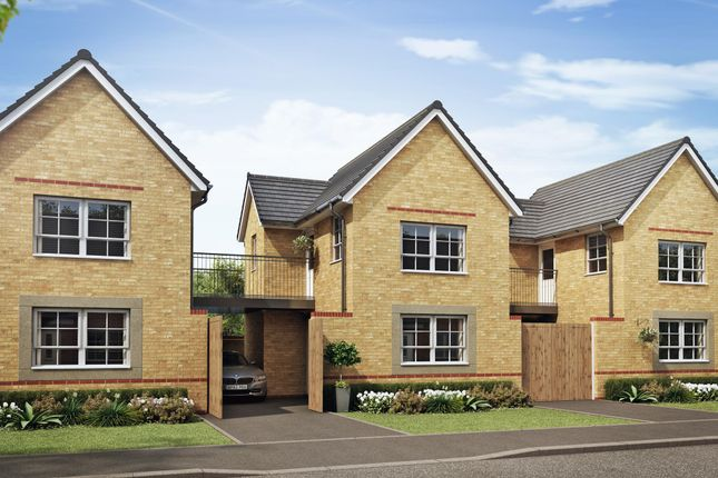 "Thumbnail Link-detached house for sale in ""Onyx"" at Dunnocksfold Road, Alsager, Stoke-On-Trent"