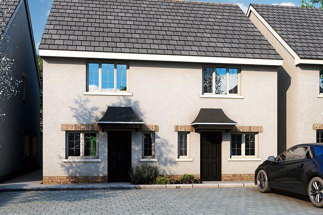 2 bed semi-detached house for sale in The Cairns, Plot 18, 23, Rowans, Horn Lane, Plymstock, Devon