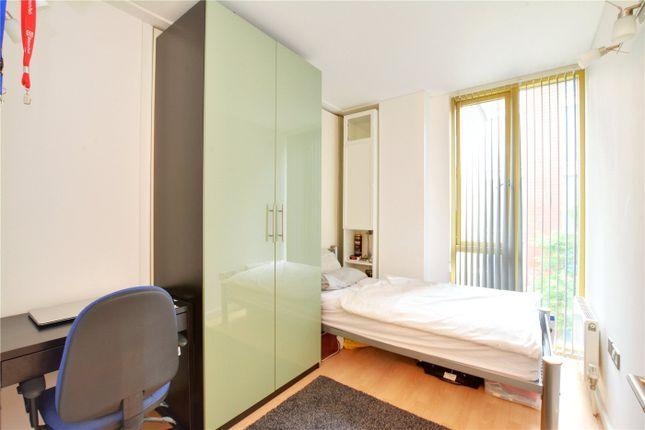 Bedroom of Becquerel Court, West Parkside, Greenwich, London SE10