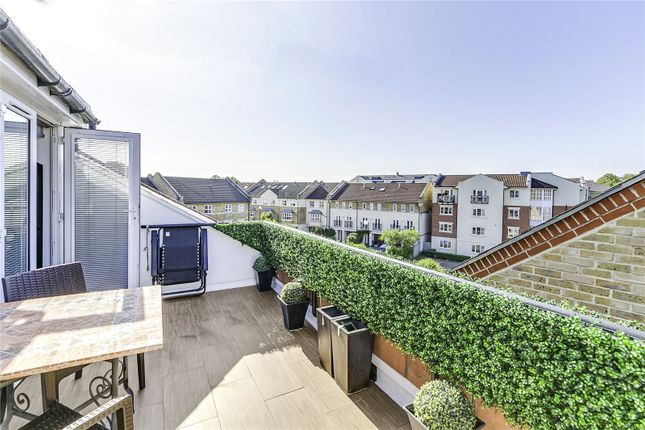 Roof Terrace of Old Chiswick Yard, Pumping Station Road, London W4