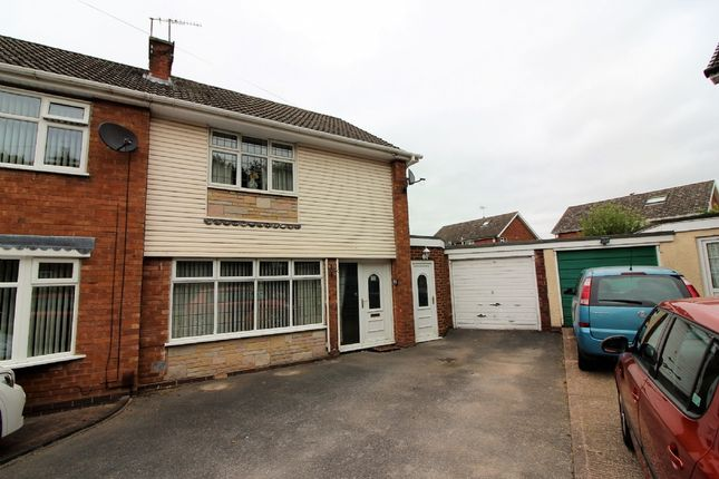 Thumbnail Semi-detached house for sale in Oaken Drive, Willenhall