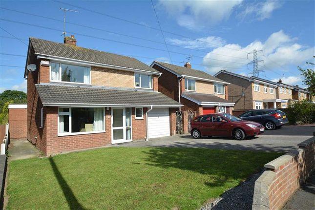 Thumbnail Detached house for sale in Bron Yr Eglwys, Mynydd Isa, Mold