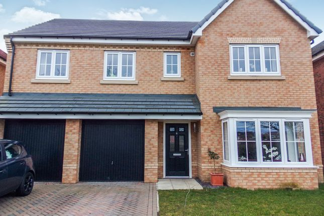 Thumbnail Detached house for sale in Red House Gardens, Netherton Lane, Bedlington
