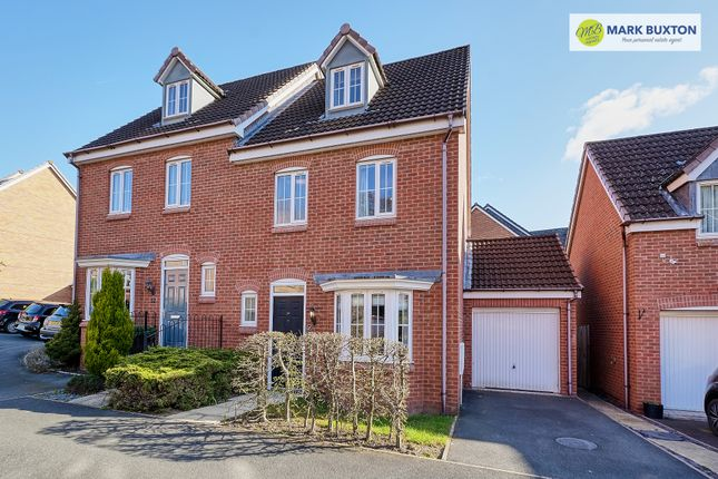 4 bed semi-detached house for sale in Chervil Close, Newcastle Under Lyme ST5