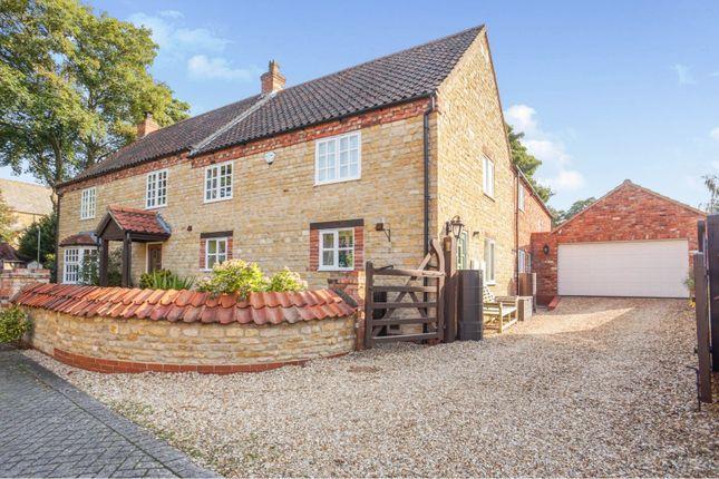 Thumbnail Detached house for sale in Church Walk, Harmston