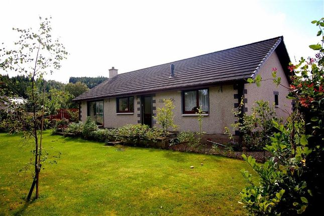 Thumbnail Detached bungalow for sale in Bencharin View, Beauly, Inverness-Shire