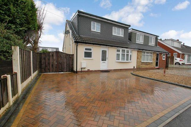 Thumbnail Semi-detached bungalow for sale in Hayward Avenue, Little Lever, Bolton