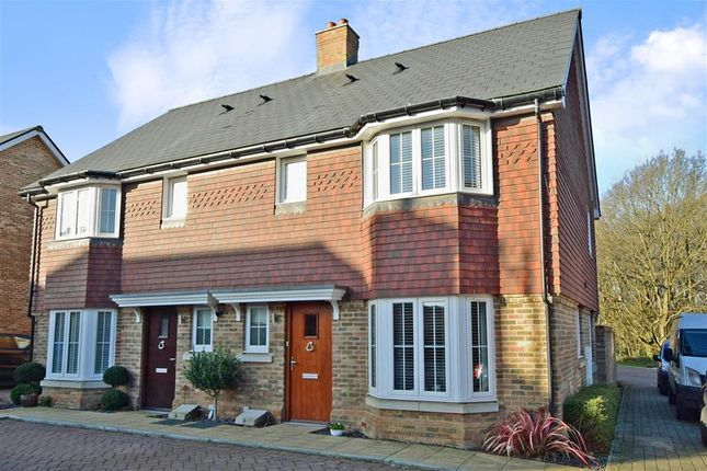 Semi-detached house for sale in Alderman Place, Kings Hill, West Malling, Kent