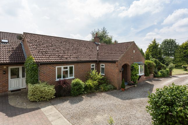 Thumbnail Detached bungalow for sale in Raskelf Road, Easingwold, York