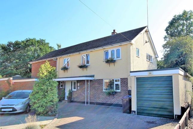 Thumbnail Detached house for sale in Abbots Close, Shenfield, Brentwood