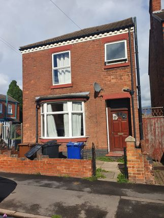 Thumbnail Detached house to rent in Sydney Street, Burton-Upon-Trent