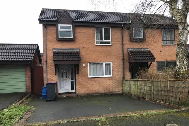 Thumbnail Semi-detached house for sale in Dinchope Drive, Hollinswood, Telford