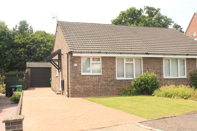 Thumbnail Semi-detached bungalow for sale in Rhiwlas, Thornhill, Cardiff
