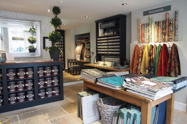 Retail premises for sale in Furnishing & Int Design HX7, West Yorkshire