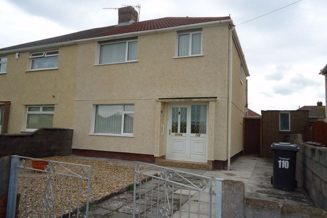 Thumbnail Semi-detached house to rent in Marine Drive, Port Talbot