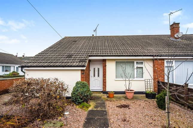 Thumbnail Semi-detached bungalow for sale in Keswick Close, Birstall, Leicester