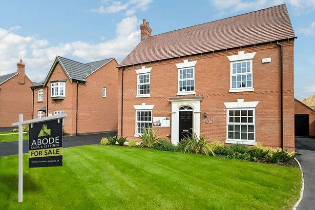 Thumbnail Detached house for sale in Henhurst Hill, Burton-On-Trent