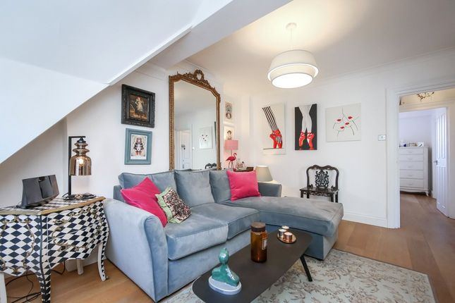 Living Room of Barons Court Road, West Kensington, London W14
