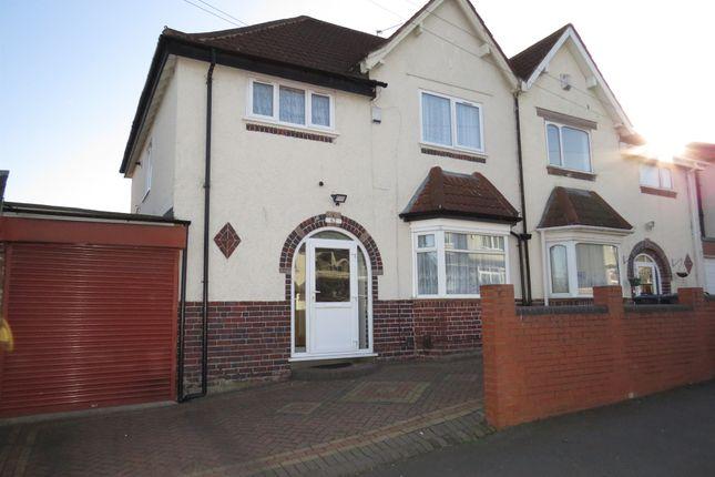 Thumbnail Semi-detached house for sale in Grafton Road, Handsworth, Birmingham